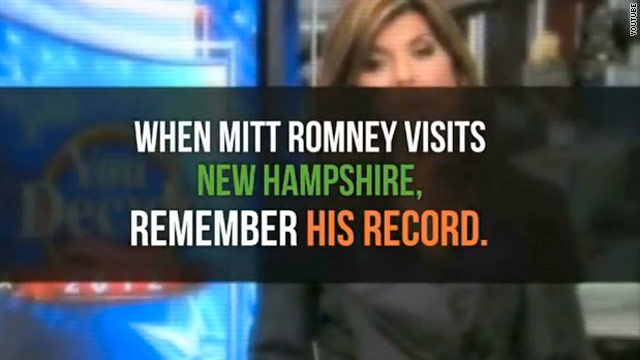 Obama super PAC will target Romney in New Hampshire