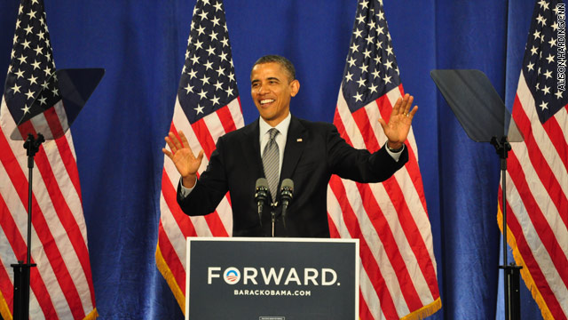 Obama outlines 'choice' in November