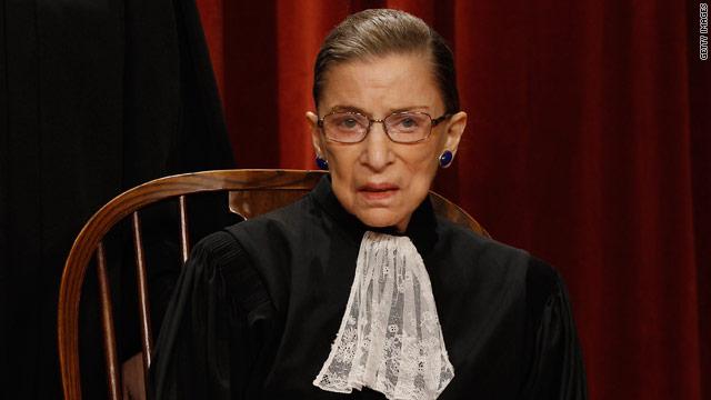Justice Ginsburg suggests 'sharp disagreement' over pending hot-button cases