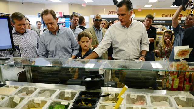Romney Wawa visit diverted by Rendell, protesters