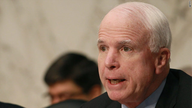 McCain reconsidering filibuster of Hagel