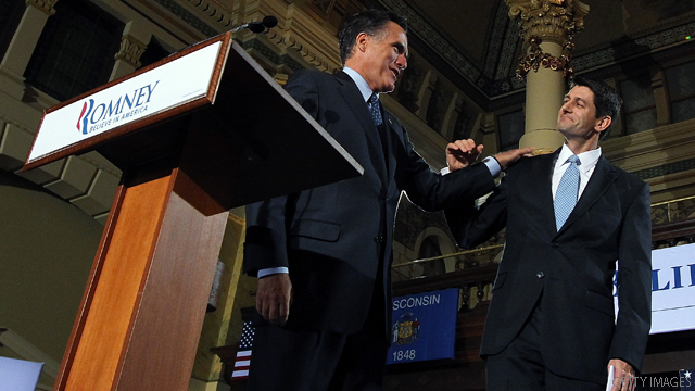Romney, Ryan to campaign 'on different tracks' until convention