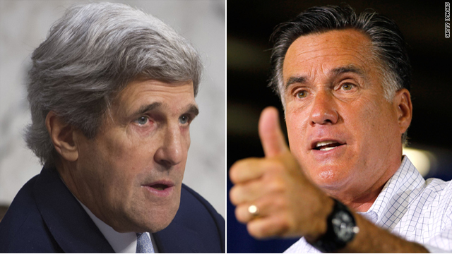 Is John Kerry a good fill-in for Mitt Romney?