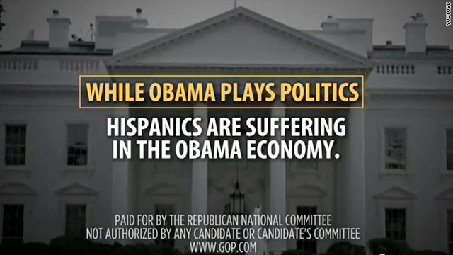 RNC blames Obama for problems affecting Hispanics