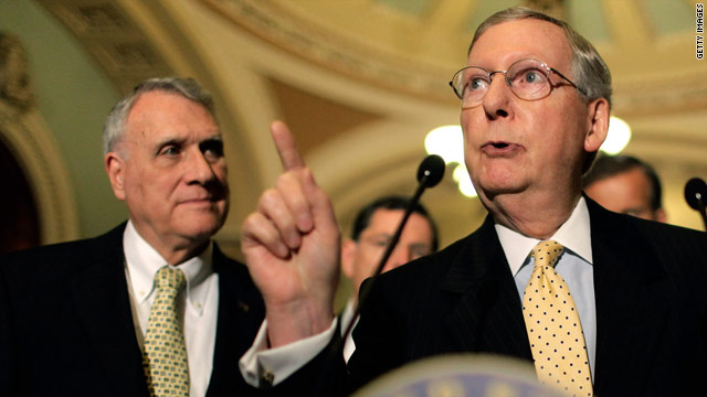 GOP senators hold comment on immigration policy, wait on Romney