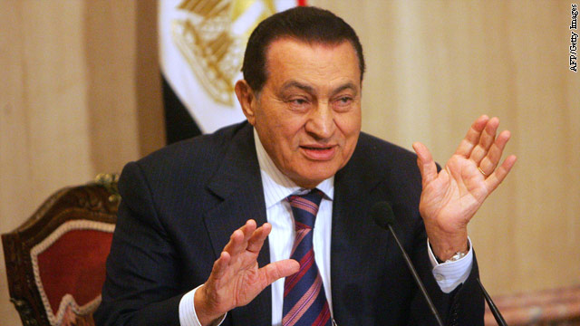 Mixed reports about whether Mubarak has died