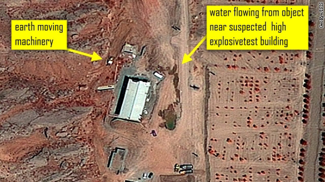 More cleanup activity alleged at suspected Iranian nuclear site