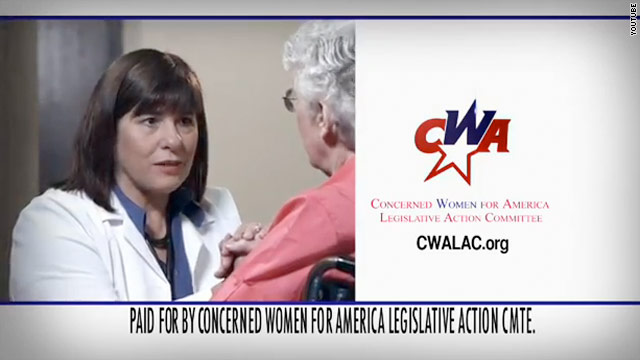 Conservative women's group takes out massive ad buy against Obama