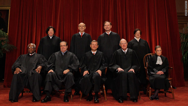 Justices' finances show overseas travel, book royalties, gifts