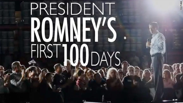 Romney targets battleground states in new TV ads
