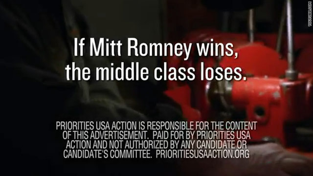 New super PAC ad hits Romney over Bain