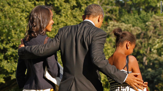 Obama reflects on being a dad in Title IX tribute