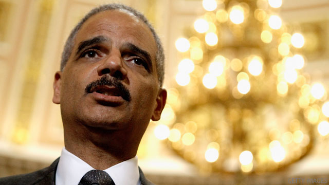 Source: House vote to hold AG Holder in contempt set for Thursday