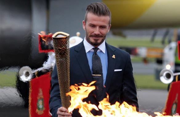 Fanning the flames: Beckham&#039;s omission has sparked debate across social media.