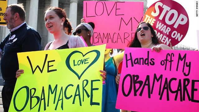 How does today's health care ruling affect your opinion of the Supreme Court?