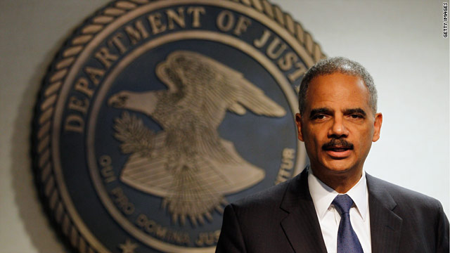 Conservative website raises stir over ID check at Holder event