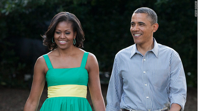 Michelle Obama praises husband's 'historic reform'