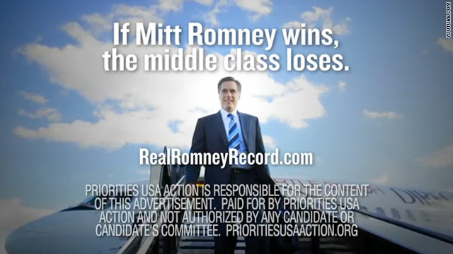 Pro-Obama super PAC bashes Romney in new ad