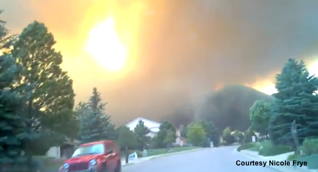 Tonight on AC360: Colorado neighborhood in flames