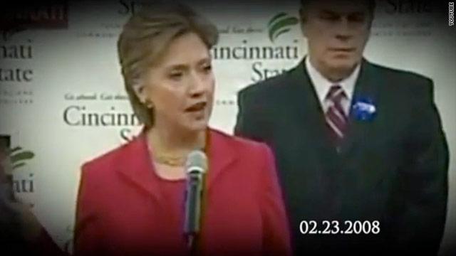 Romney's latest campaign surrogate: Hillary Clinton