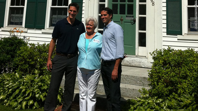 Romney family takes on New Hampshire