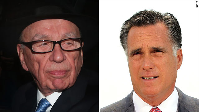 Murdoch on Romney: &#039;Of course I want him to win&#039;