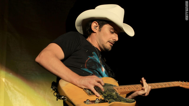 Brad Paisley to star in White House's 4th of July celebration