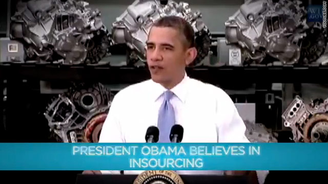 New Obama TV ad goes after Romney over outsourcing