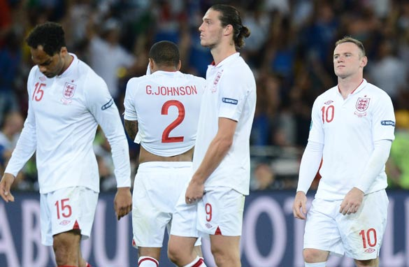 Despite a penalty shootout defeat to Italy, England are above the Azzuri in FIFA's world rankings.