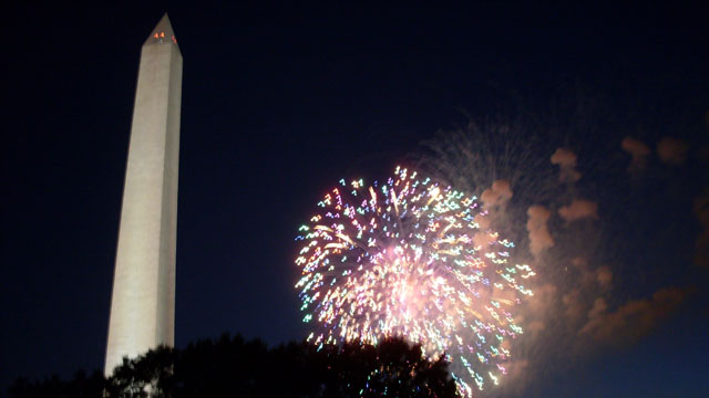 Fourth of July at the White House
