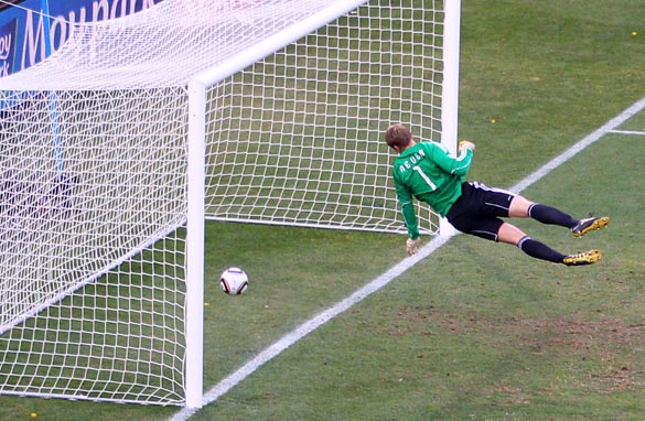 England have been involved in three notable goal-line technology controversies since 1966.