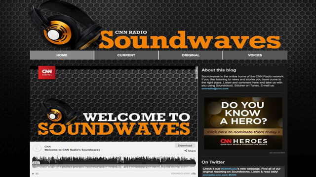 CNN Digital launches audio beat through Soundwaves