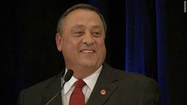 Maine gov apologizes for &#039;Gestapo&#039; remark