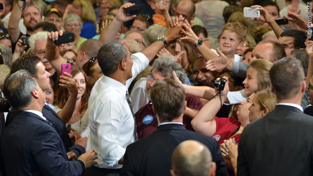President Stumps for Middle Class at Iowa Rally