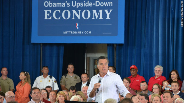 Romney takes on outsourcing claim