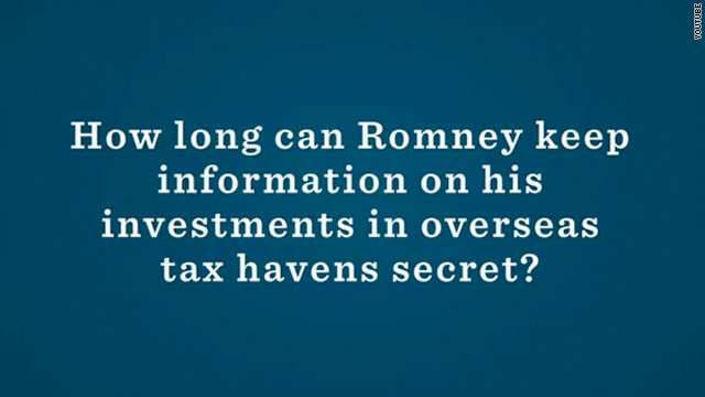 New day, another Obama attack on Romney transparency