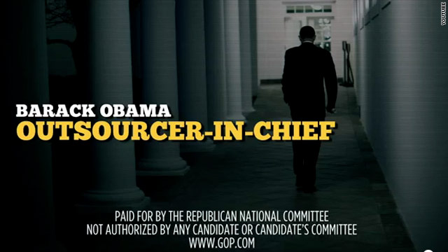 RNC launches second day of 'outsourcing' front against Obama