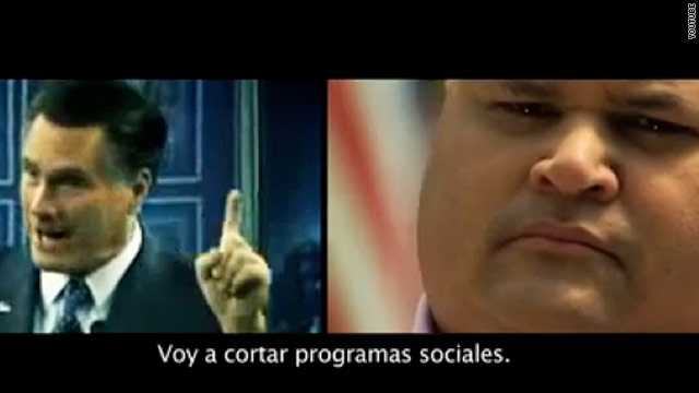 New Spanish language ads go after Romney