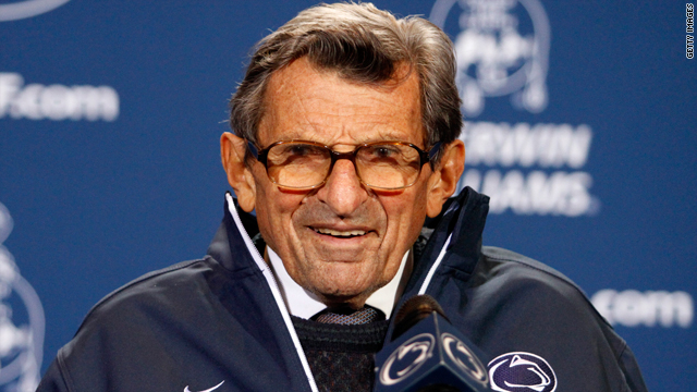 How wrong was the late Joe Paterno when he said the Sandusky scandal didn't tarnish Penn State?