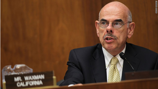 Waxman charges Romney with secrecy, questions motives