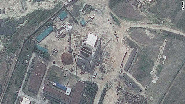 Satellite imagery shows ramped-up work at North Korea reactor