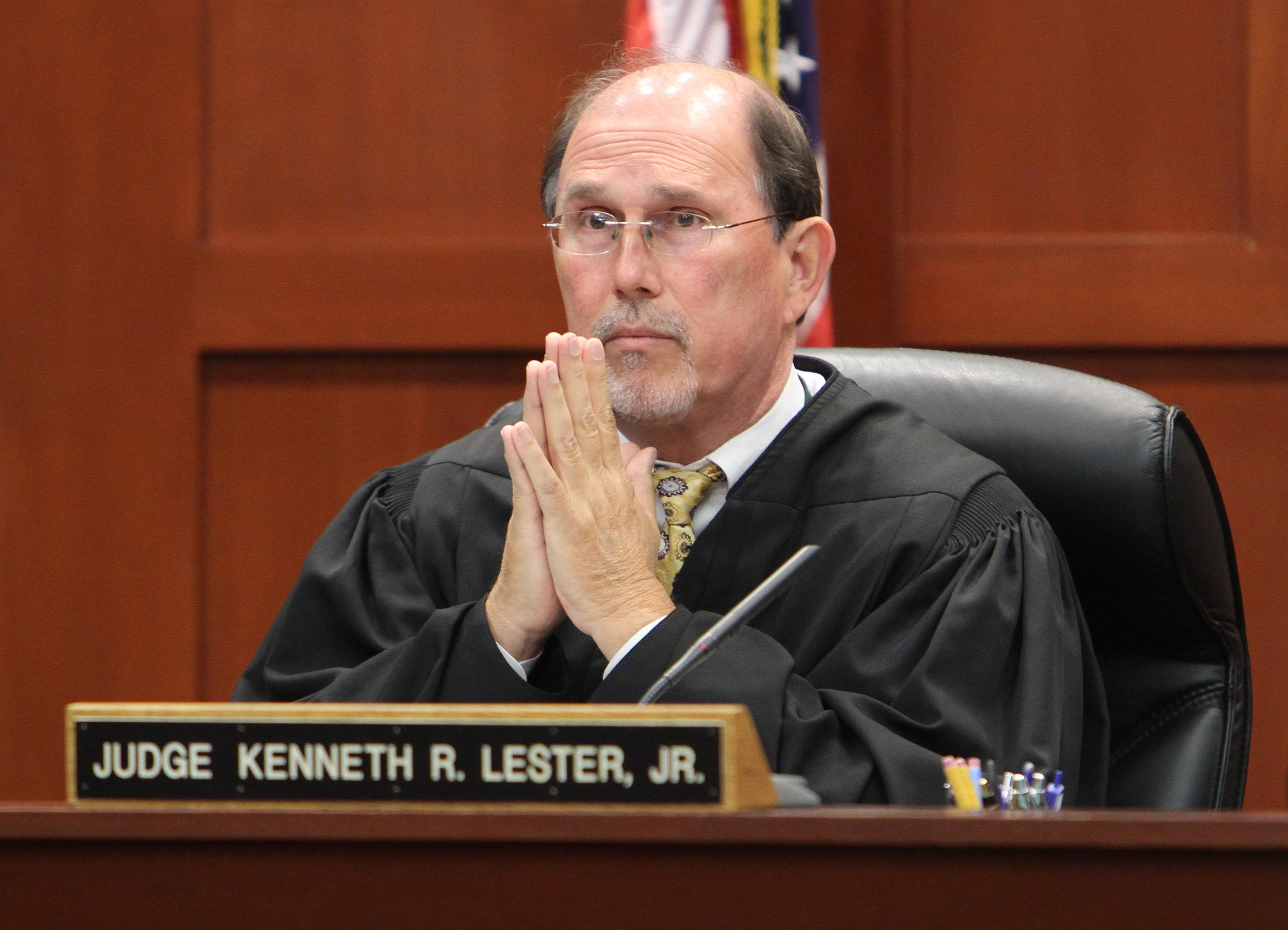Zimmerman wants Judge Lester Jr. out