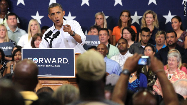 I fought for you, so help me win again, Obama tells Virginians