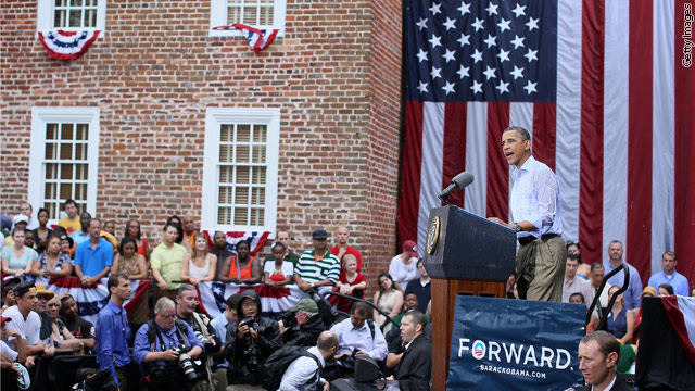 Obama continues to woo Virginia voters