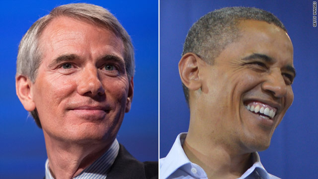 Portman's weekend test run against Obama