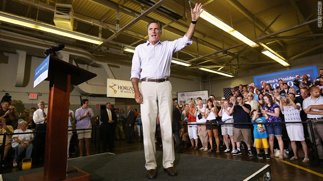 Romney: Obama trying to change 'the nature of America'