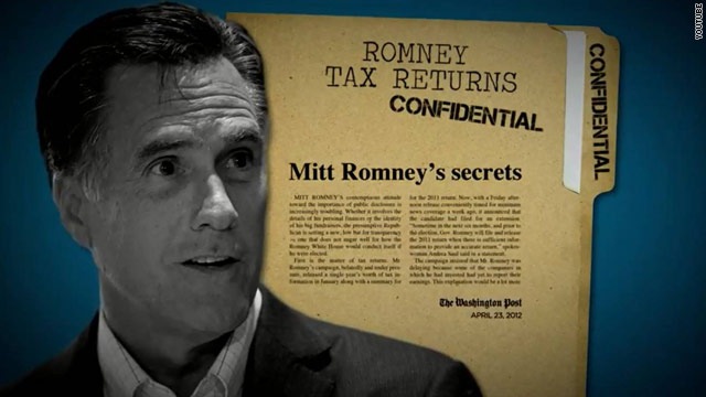 Obama ad continues to hammer Romney over taxes