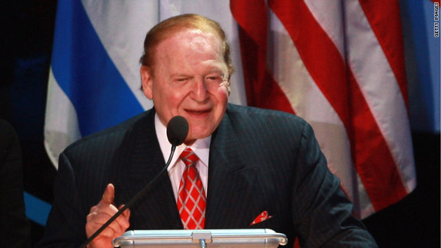Major GOP donor Adelson may attend Romney's Israel fundraiser