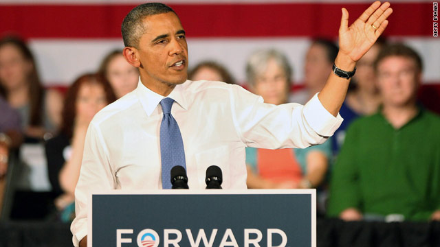 Obama sticking with 'incomplete' grade on economy