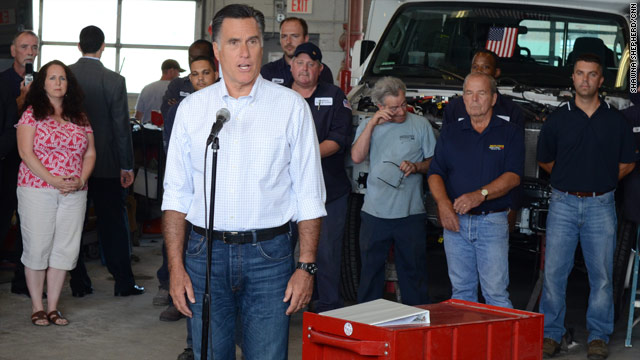Romney drives a truck through Obama&#039;s &#039;build that&#039; remark